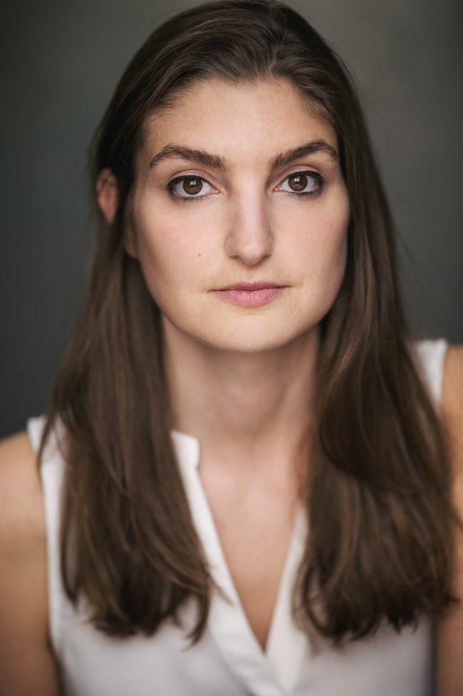 An actors headshot of actress Myriam Laurent